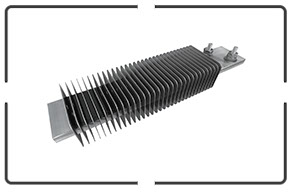 Industrial Heating Elements | Finned Strip Heaters