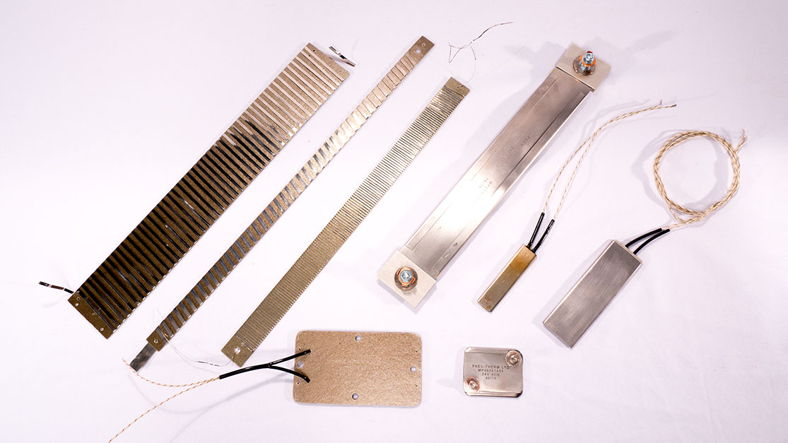 Mica Strip Heaters Different Styles