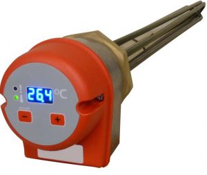 Digital immersion Heaters Pneutherm